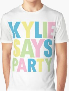 Kylie Minogue - Kylie Says Party Graphic T-Shirt