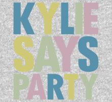 Kylie Minogue - Kylie Says Party Kids Tee