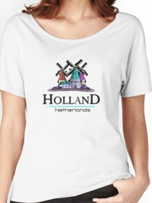 Holland, The Netherlands Women's Relaxed Fit T-Shirt