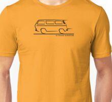Speedy VW Vanagon Caravelle Transporter Kombi Windows Unisex T-Shirt