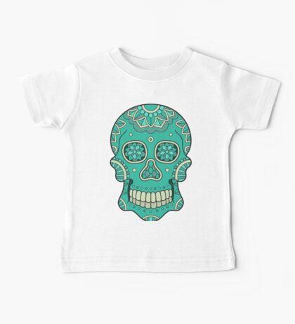 Mandala Skull Baby Tee