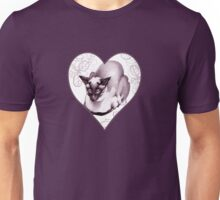Siamese Champion Cat 2 Unisex T-Shirt