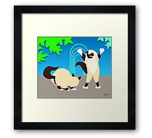 """I'm Taller Than You"" Framed Print"