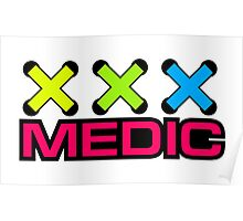 Zip Tie Medic Poster