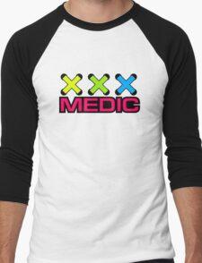 Zip Tie Medic Men's Baseball ¾ T-Shirt