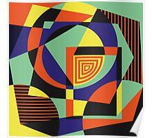 Geometric#14 Poster