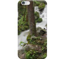 Wet Weather Cascades III iPhone Case/Skin