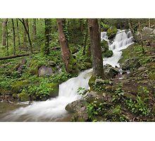 Wet Weather Cascades III Photographic Print