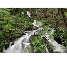 Wet Weather Cascades II Photographic Print