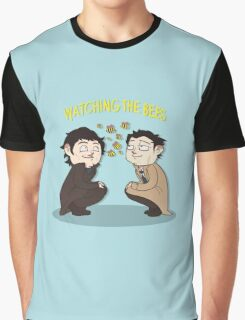 Watching The Bees. Graphic T-Shirt