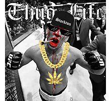Thug life Nate Diaz Photographic Print