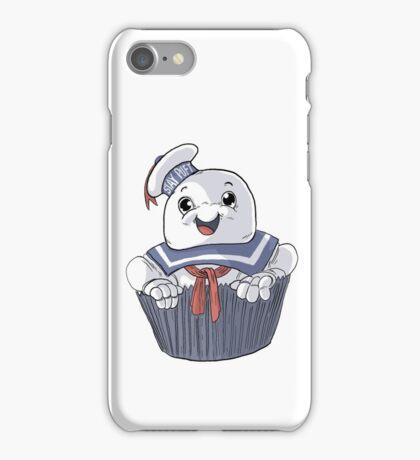 Stay Puft Cupcake iPhone Case/Skin