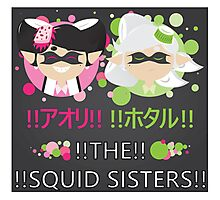 Squid Sisters Poster (Japanese) Photographic Print