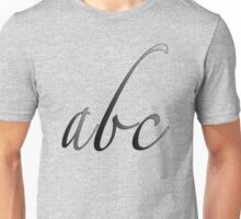 """pencil abc"" Unisex T-Shirt"