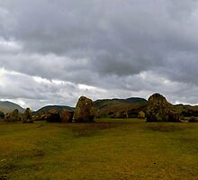 Castlerigg Stone Circle by mikebov