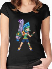 Arcade Riven Women's Fitted Scoop T-Shirt