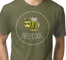 Bee Cool - Punny Farm - Light Tri-blend T-Shirt