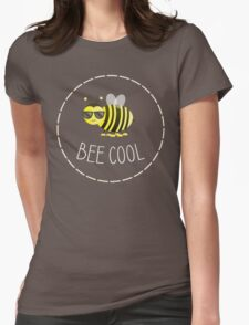 Bee Cool - Punny Farm - Light Womens Fitted T-Shirt