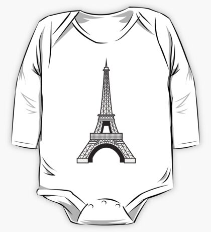 Eiffel One Piece - Long Sleeve