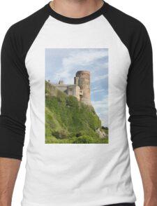 Bamburgh Castle Northumberland England Men's Baseball ¾ T-Shirt