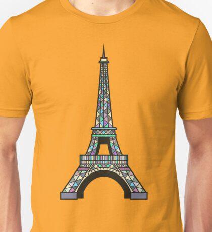 Eiffel Mosaic Unisex T-Shirt