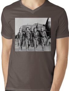 Women of the Airforce Mens V-Neck T-Shirt