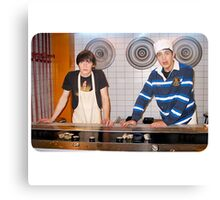 Drake and Josh Sushi Canvas Print