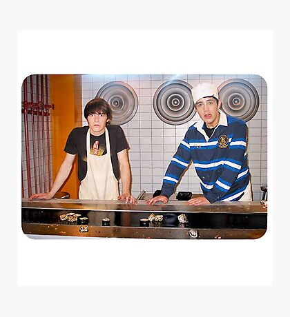 Drake and Josh Sushi Photographic Print