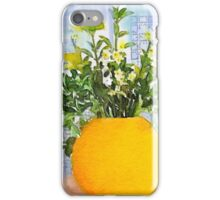 Yellow Vase iPhone Case/Skin