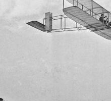 Wright Brothers Flight Sticker