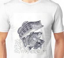 Bass Crappie Perch Unisex T-Shirt
