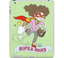 Mothers Day superheroes iPad Case/Skin