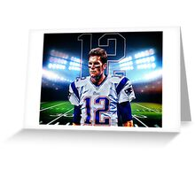 Tom Brady  Greeting Card