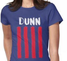 Crystal Dunn painted design Womens Fitted T-Shirt