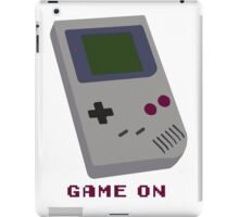 GAME ON iPad Case/Skin