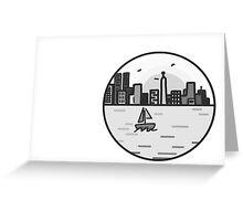 Old York City Greeting Card