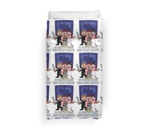 3 Little Pigs-The Last Stand Duvet Cover