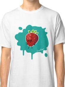 Früchtchen - Erdbeere mit Brille Classic T-Shirt