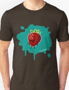 Früchtchen - Erdbeere mit Brille T-Shirt