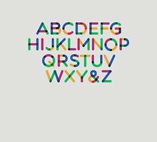 Alphabet multi Unisex T-Shirt