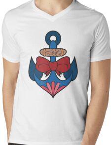 Traditional Anchor Mens V-Neck T-Shirt