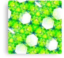 Wild Geometry Seamless Pattern Canvas Print