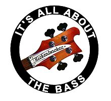 Rickenbacker bass guitar Photographic Print