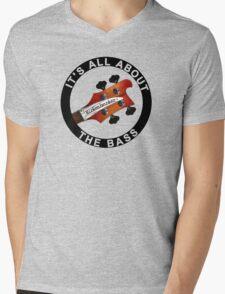 Rickenbacker bass guitar it' all about the bass Mens V-Neck T-Shirt