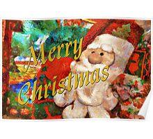 Merry Christmas - Santa Poster