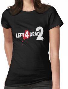 LEFT 4 DEAD 2 LOGO Womens Fitted T-Shirt