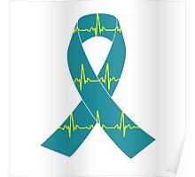 Tachycardia Ribbon Poster