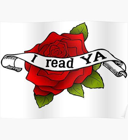 I Read YA Poster