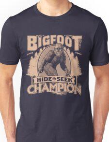 Bigfoot - Hide & Seek Champion Unisex T-Shirt