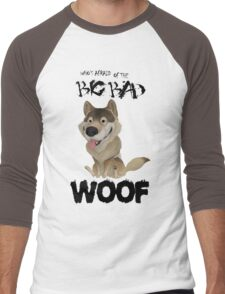 The Big Bad WOOF Men's Baseball ¾ T-Shirt